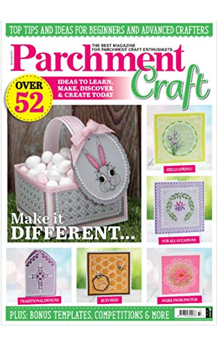 Magazine Parchment Craft : Over 52 Ideas To Learn, Make, Discover & Create Today (English Edition)