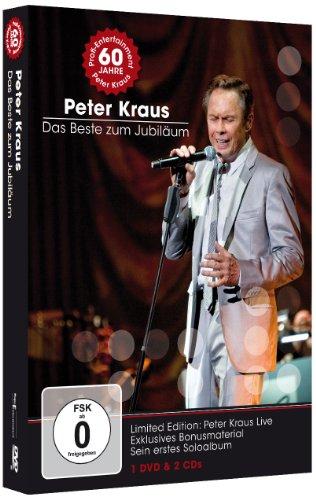 Peter Kraus - Das Beste zum Jubiläum (LIMITED EDITION) 1 DVD + 2 CDs + Booklet