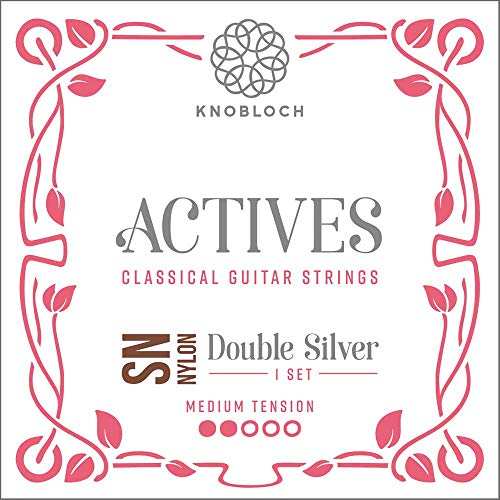 Knobloch Strings 300ADN Double Silver Special Nylon - Medium