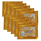 Vandarllin24K Gold Powder Gel Collagen Under Eye Masks Sheet Patch, Remove Bags,Dark Circles &Puffiness,Reduce Wrinkle,Moisturising,Hydrating,Uplifting Whitening,for Blackheads (30 Pairs)