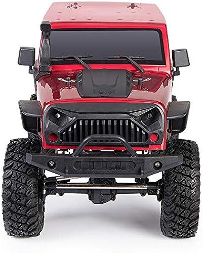 @LI Monster Truck 1 10 Verh nis Simulation Wiederherstellung 4WD Hochgeschwindigkeitsauto 2.4Ghz Hohlrad Federung Wüstenauto Erwachsenes professionelles Offroad-Kletterauto,Standard