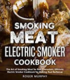 Smoking Meat: Electric Smoker Cookbook: The Art of Smoking Meat for Real Pitmasters, Ultimate Electric Smoker Cookbook for Making Real Barbecue