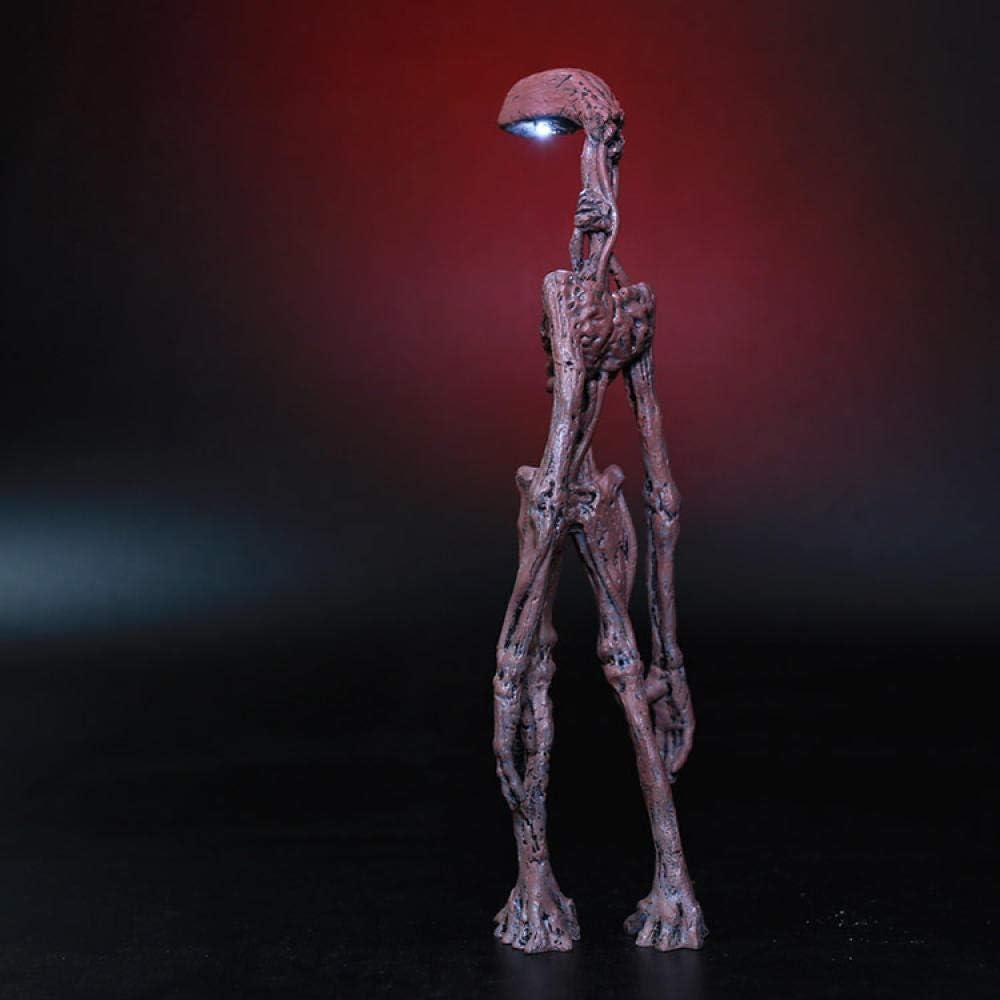 20cm Siren Head Figurine Mermaid Lampione a doppia testa Modello da collezione Urban Legend Horror SCP 6789 Anime Action Figure Regalo per bambini-Testa della lampada a LED
