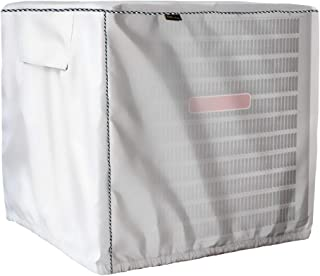 Mr.You Winter Air Conditioner Cover - AC Cover Outdoor Protection - Heavy Duty Waterproof All Weather Protection (D28W24H28in,Oxford Fabric)