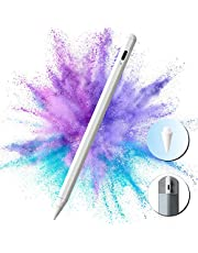 Gutliebe Stylus voor Apple iPad pen met tilt-punt hellingsgevoeligheid, palm rejectie en magnetische hechting, type C oplaadbare stylus voor tekenen en schrijven op de iPad 2018-2021