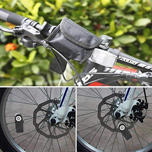 BangShou Bremsscheibenschloss mit Alarmfunktion 110dB Scheibenschloss Motorradschloss Ton für Motorrad und Fahrrad - 11
