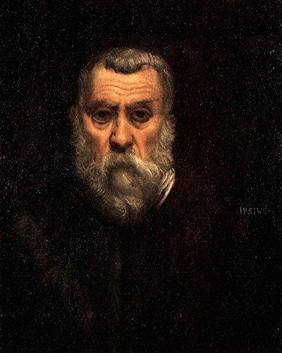 Der Museum Outlet–Selbst Portrait by Tintoretto–Poster Print Online kaufen (101,6x 127cm)
