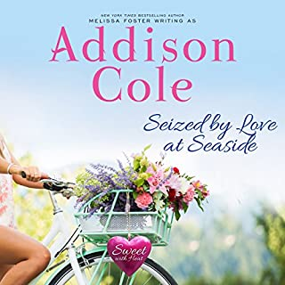 Seized by Love at Seaside     Sweet with Heat: Seaside Summers, Book 7              By:                                                                                                                                 Addison Cole                               Narrated by:                                                                                                                                 Melissa Moran                      Length: 8 hrs and 14 mins     27 ratings     Overall 4.9