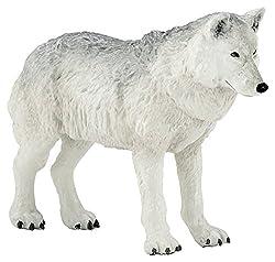 """Papo """"Polar Wolf Figure"""