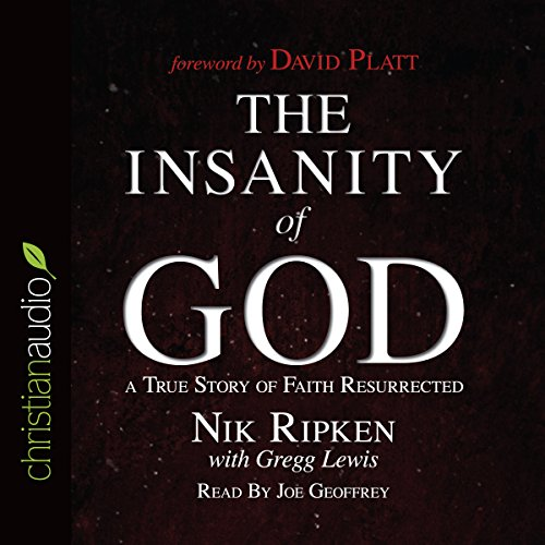 The Insanity of God audiobook cover art