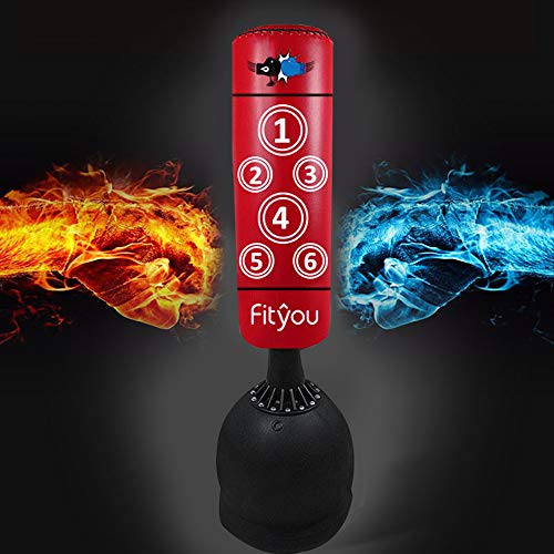 Fityou 160CM Free Standing Punch...