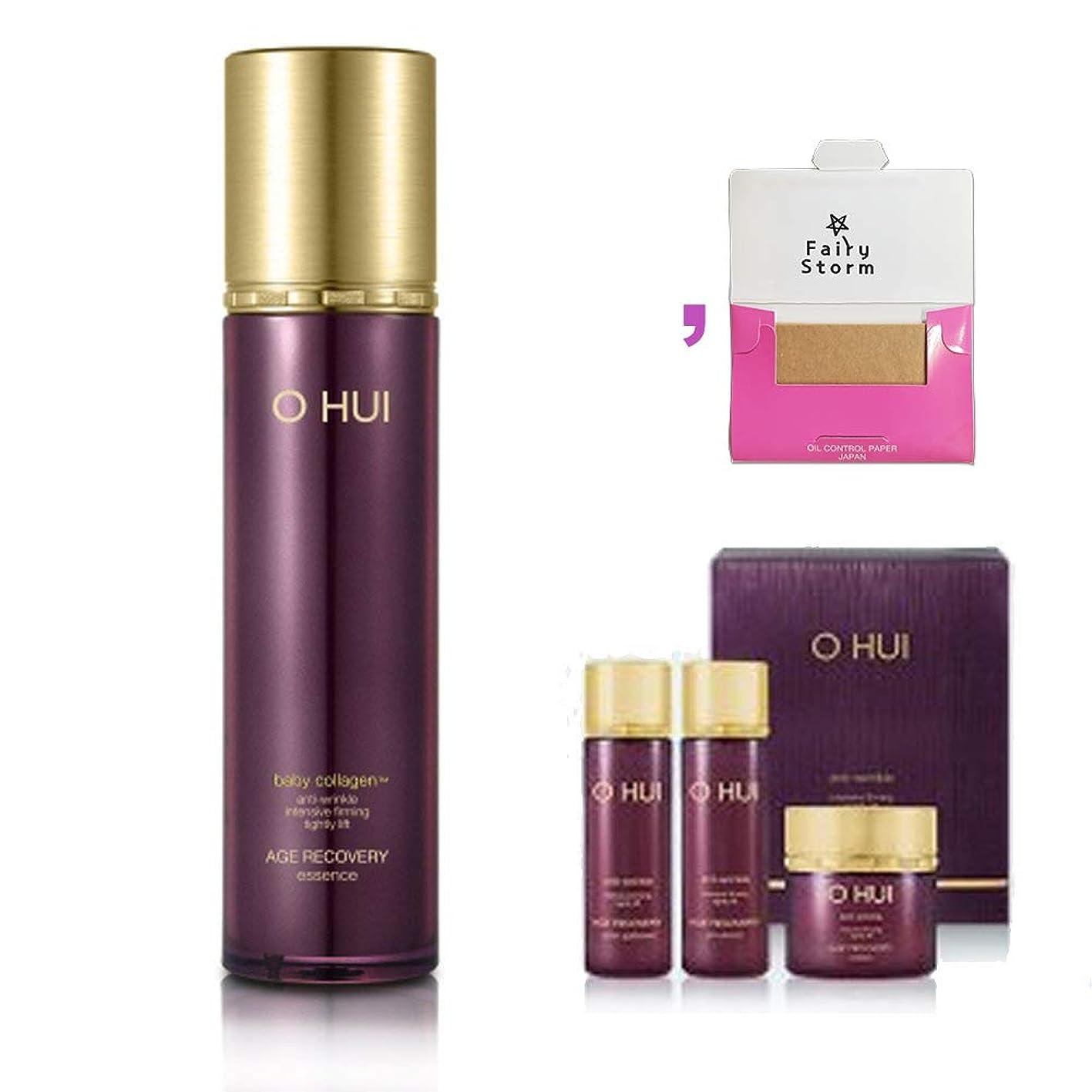 [オフィ/ O HUI]韓国化粧品 LG生活健康/ Ohui AGE RECOVERY ESSENCE Special Set /オフィ エイジ リカバリー エッセンス45ml 限定セット +[Sample Gift](海外直送品)