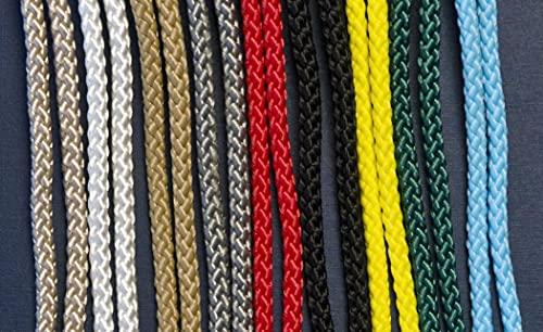 10 m de cordón de colores para decoración, 5 mm de muchos colores (cuerda)