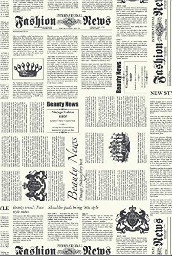 Décopatch Papier No. 770 Packung mit 20 Blätter (englische Zeitung, 395 x 298 mm, ideal für Ihre Papmachés)