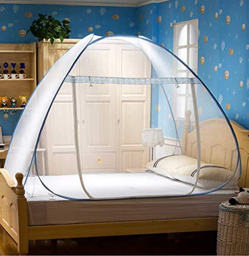 FGDSA Tienda de campaña con mosquitera emergente con Fondo de 1,82 m, mosquiteras de Puerta Doble, portátil Plegable para bebés, niños y Adultos, 180200155cm