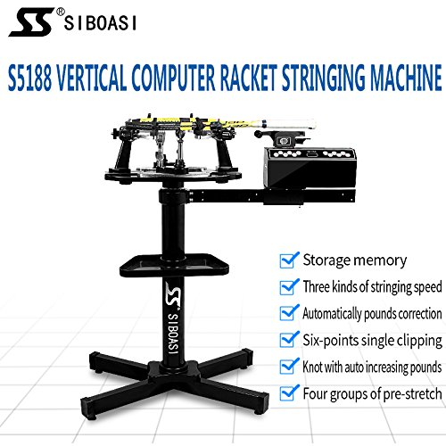 S5188Vertikal Mikro Besaitungsmaschine Specialized für Tennis und Badminton Schläger
