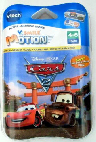 VTech Cars 2 Game for V.Smile Motion Active Learning System - For Ages 4-6