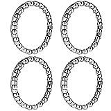 Jaceyon Bike-Headset-Bearings, Bike-Ball-Bearing for Bicycle-Headset, 5/32' x 20-Balls Bearing Accessories for Bike,4Pcs