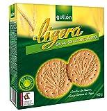 Gullón - Ligera - Galletas sin sal y sin azúcares añadidos 600 g - [pack de 5]