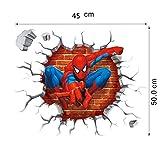 Zoom IMG-1 kibi spiderman adesivo muro da