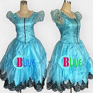 ●●サイズ選択可●●L0099LWL コスプレ衣装 アリス・イン・ワンダーランド Alice in Wonderland アリス・キングスレー 女性Mサイズ