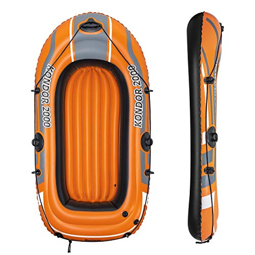 "Bestway 6'2"" x 39""/1.88m x 98cm Kondor 2000 Barcos, Naranja 🔥"