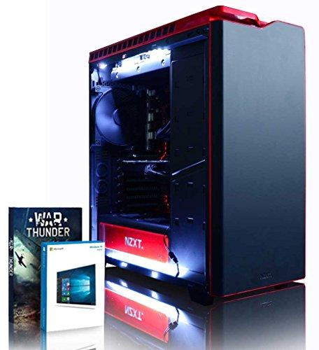 Vibox Armageddon GM770-545 Gaming-PC Computer mit Spiel Bundle, Windows 10 OS (4,6GHz Intel i7 6-Core Coffee Lake Prozessor, MSI Armor GeForce GTX 1070 Ti Grafikkarte, 32Go DDR4 RAM, 1TB SSD)