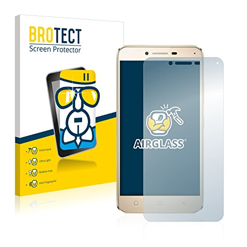 brotect Glass Screen Protector compatible with Lenovo Vibe K5 Glass Protector, Extreme Scratch Resistant, AirGlass