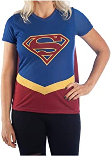 Best womens superman shirt with cape Reviews