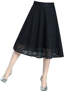 715df8a65 Amazon.es: Falda De Encaje - Faldas / Mujer: Ropa