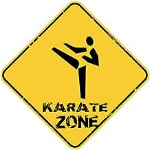 Eddany Old School Karate USA Crossing Sign 16'' x 16''