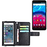 K-S-Trade Wallet Case Flip Cover Compatible With Archos