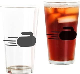 CafePress Curling Stone Pint Glass, 16 oz. Drinking Glass