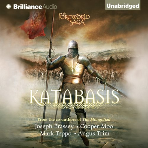 Katabasis     The Foreworld Saga, Book 4              By:                                                                                                                                 Joseph Brassey,                                                                                        Cooper Moo,                                                                                        Mark Teppo,                   and others                          Narrated by:                                                                                                                                 Luke Daniels                      Length: 13 hrs and 18 mins     155 ratings     Overall 4.2