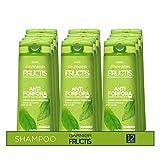 Garnier Multi Pack Shampoo 2in1 Fructis Antiforfora 2in1, Per Capeli Normali, 250 ml, Confezione da 12