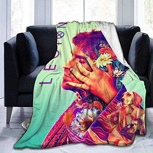 'N/A' WJOOM Le-Gion Flannel Fleece Blanket Cozy Warm Super Soft Fluffy Luxury Blanket-Lightweight All Season for Bed/Couch/Sofa/Office/Camping 80' X60