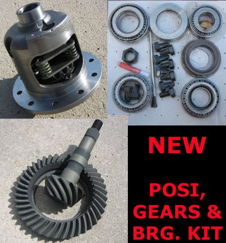 "GM Chevy 8.875"" 12-Bolt CAR Rearend Posi, Gear, Bearing Kit Package - 3.55 Ratio"