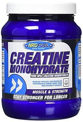 NRG Fuel 600 g Creatine Monohydrate Supplement