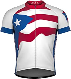 puerto rico flag cycling jersey