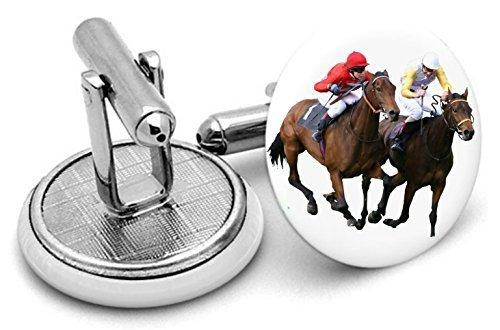 Royal Ascot Racing boutons de manchette, Homme, cadeaux, weedding, Groom,