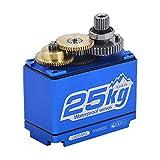 Mifive Power HD LW-25MG 25KG / 0.14S Servo Digital De Alto Torque una Prueba De Agua Servo Digital EstáNdar para 1/8 1/10 Escala RC Cars