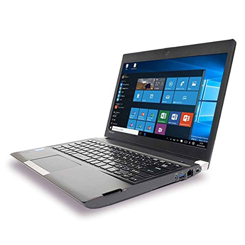 もっと少なくインスタントジョイントノートパソコン 中古 東芝 dynabook R734/M Core i3 4GBメモリ 13.3インチ Windows10 WPS Office 付き