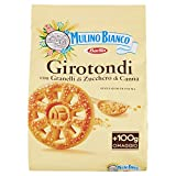 Mulino Bianco Biscotti Girotondi con Granelli di Zucchero di Canna, 800g