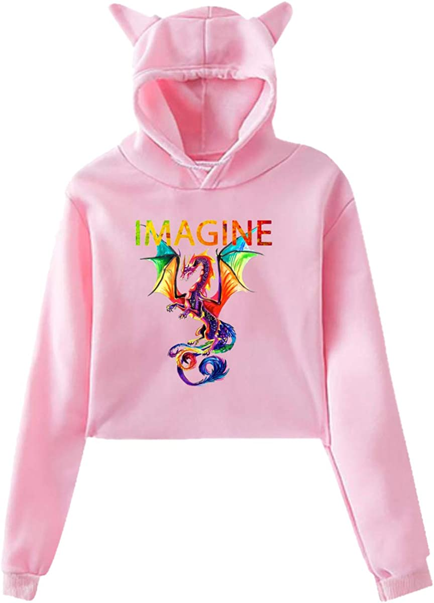 Imagine The Dragons Youth Hoodies Women's Fashionable Beautiful Ranking TOP18 Max 55% OFF