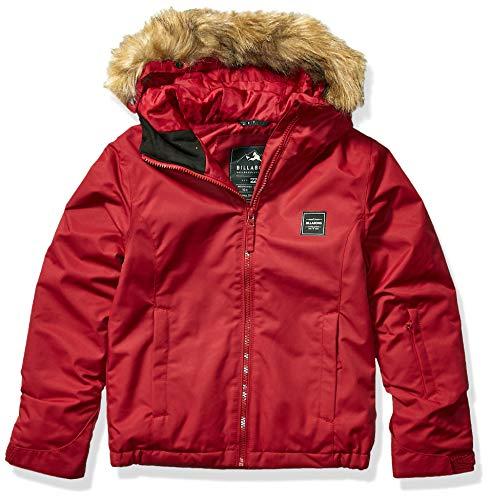 BILLABONG Mädchen Sula Snowboard Jacket Isolierte Jacke, Scharlachrot, Medium