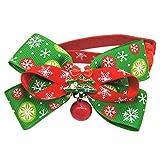 Cravatta per Cane,Beetest® Collare Regolabile Pet Collare Cravatta per Cani/Gatto Natale Decorazione Collari (L)