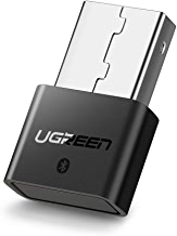 UGREEN USB Bluetooth 4.0 Adapter Wireless Dongle Transmitter and Receiver for PC with Windows 10, 8, 7, XP, Vista for Bluetooth Stereo Headset Music, Keyboards, Mouse, Gamepads, Speakers