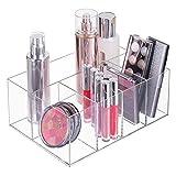 mDesign Organizer per cosmetici – Box a 5 scomparti per riordinare trucchi, flaconi e al...