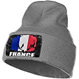 Giles John Bonnet Bonnets Bonnet Drapeau France Football Joueur De Rugby Bonnet Hommes Femmes Bonnets À Tricoter Stretchy & Soft Bonnet