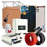 Kit Solar Autoconsumo Inyección a Red 4.000W / 2.0000W Día + Inversor Vertido Cero